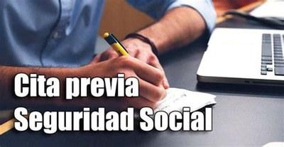 Cita prèvia per la Seguridad Social
