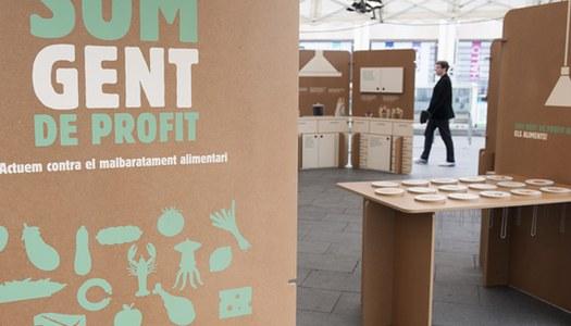"""""""Som gent de profit"""" l'exposició sobre el malbaratament alimentari"""
